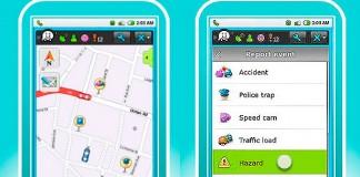Mapa tráfico Waze