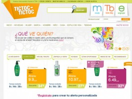 TicToc-TicToc es un agregador de ofertas de outlets online