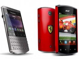 Smartphones con estilo deportivo