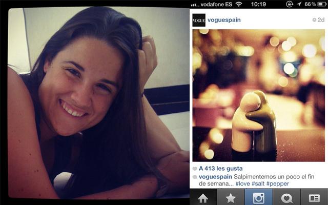 Marina nos cuenta su experiencia con Instagram