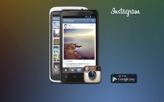 Instagram llega para smartphones Android