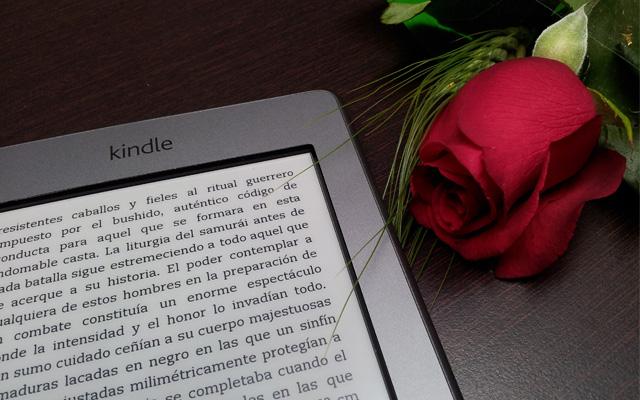 Kindle: libros digitales y rosas por Sant Jordi