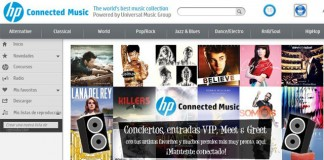 HP Connected Music es un servicio de música en streaming.