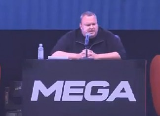 Kim Dotcom press conference