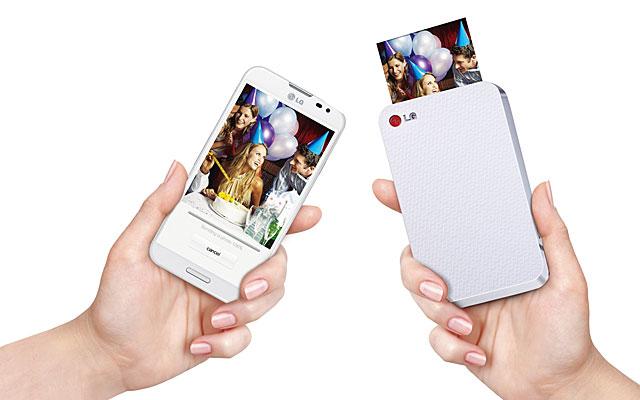 Una impresora para fotos del móvil que añade un código QR