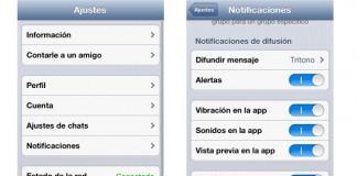 Whatsapp avisos