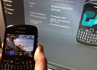 Blackberry contactos