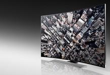 Samsung televisor curvo