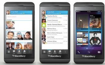 Blackberry Messenger app