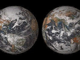 Global selfie mosaic Nasa