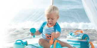 Imaginarium lanza bañadores con factor de protección 50