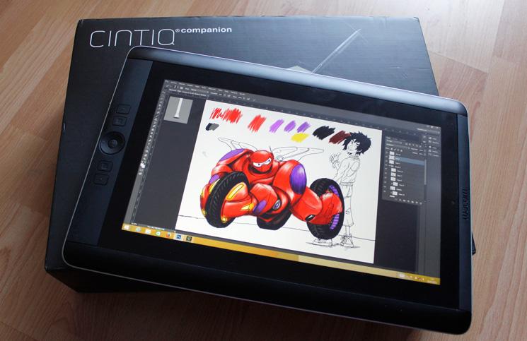 Wacom cintiq companion tu mesa de dibujo port til perfecta - Mesa de dibujo portatil ...