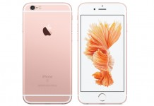 iPhone 6S pink rose