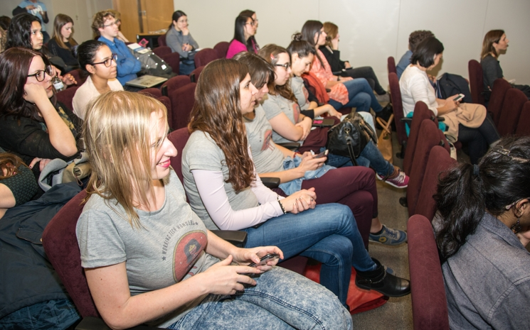 Asistentes a Women Techmakers Barcelona