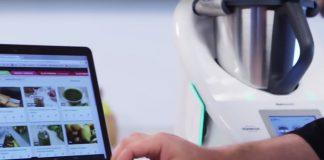 La aplicación de Cookidoo con la Thermomix Cook-key de conexión wifi