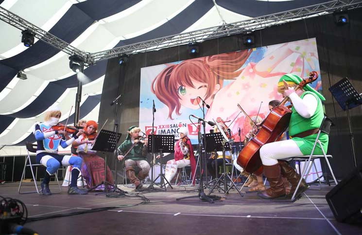 Salón del Manga- Concierto Zelda